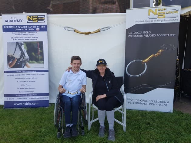 Michael Murphy with Neue Schule founder Heather Hyde