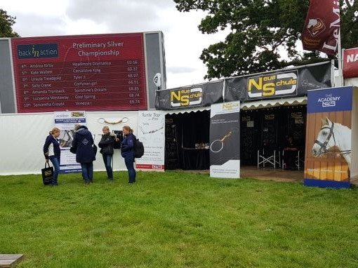 The Neue Schule stand at LeMieux BD Summer National Championships 2019